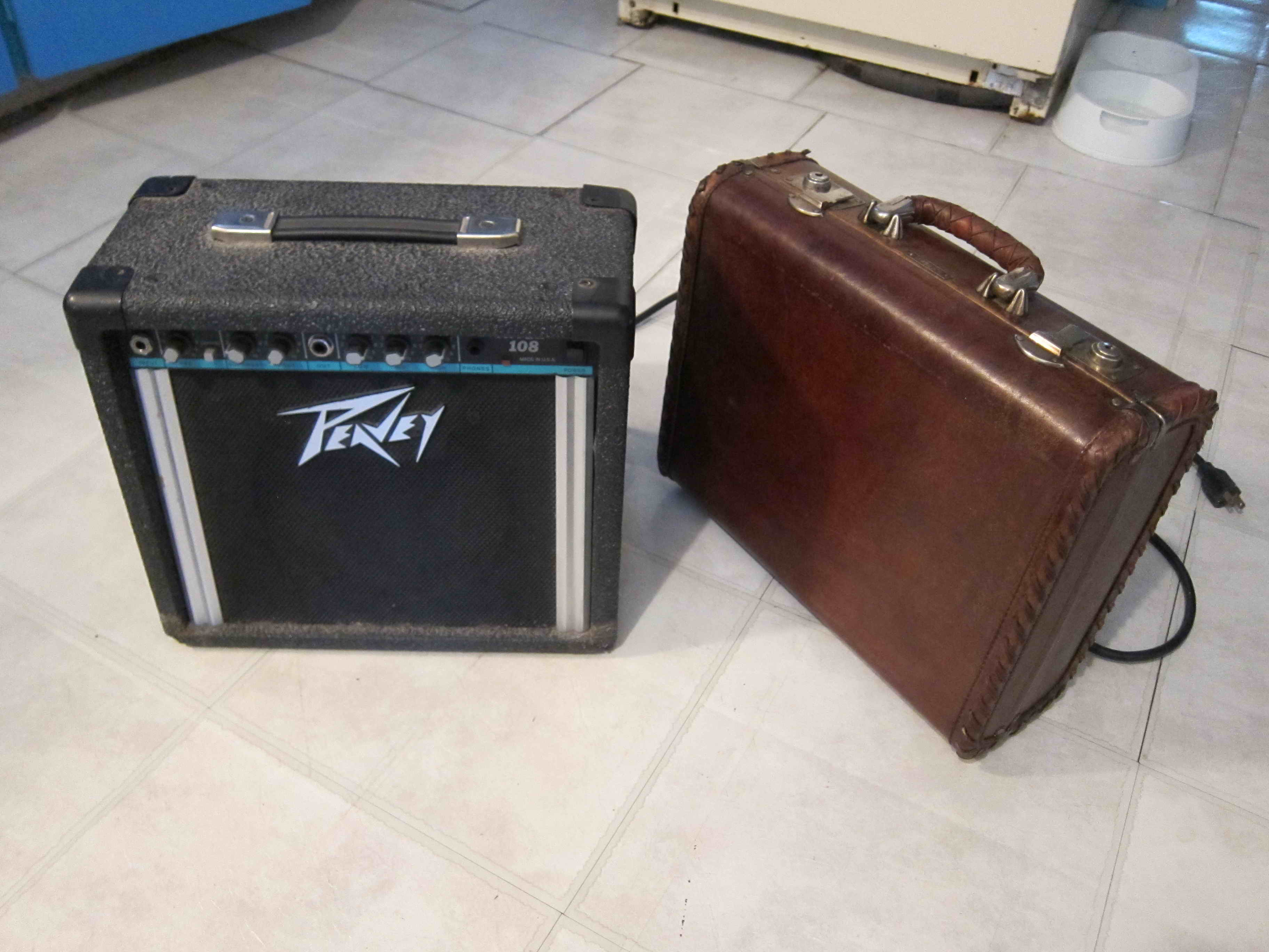 Green living: Amp and Suitcase