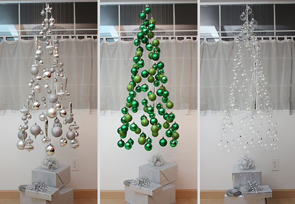 Unconventional Christmas Trees.31 Diy Christmas Trees Made From Recycled Materials