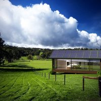 self-sufficient off-grid tiny house