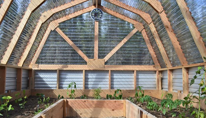 DIY Upcycled greenhouse ideas