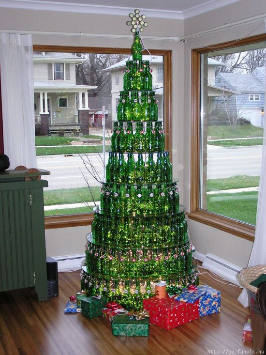 Christmas Tree Recycle.31 Diy Christmas Trees Made From Recycled Materials