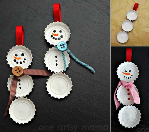 Christmas Decorations Recycled Materials : Diy christmas decorations made from recycled materials