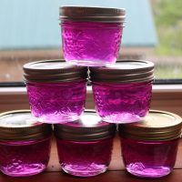 violet jelly recipe