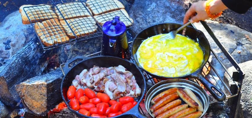 Campfire Breakfast
