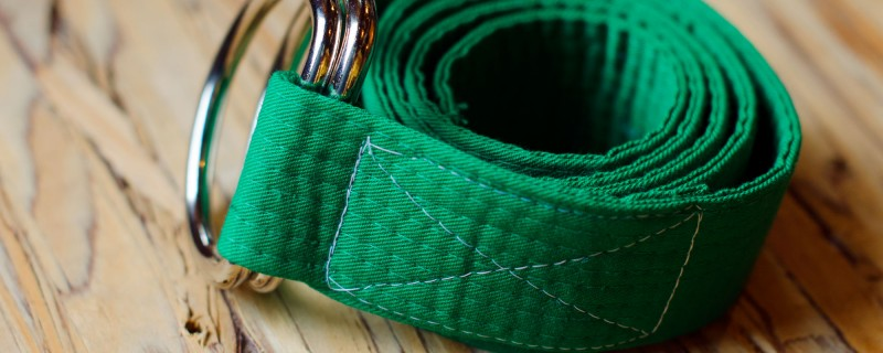Upcycled Karate Belt
