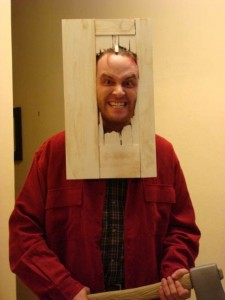 DIY Halloween Costume the shining