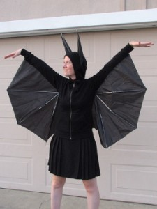 DIY Halloween costume Bat