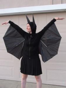 DIY Halloween costume Bat