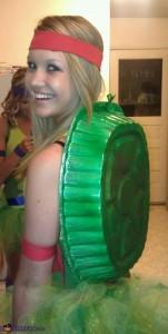 DIY Halloween costumeninja turtles