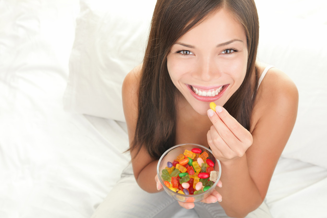Healthy vegan sugar-free gummy bears recipe