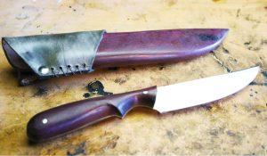 bushcraft foraging knife