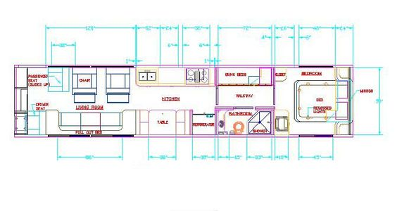 Tiny home floor plan