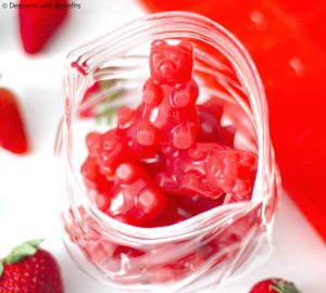 DIY gummy bear healthy recipe