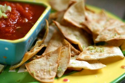 Lime Tortilla chip recipe