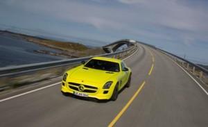 Mercedes E-cell electric car