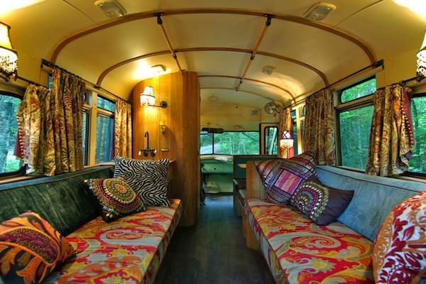 5 Buses Turned Into Incredible Homes