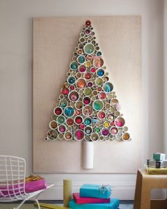 Upcycled Christmas tree idea