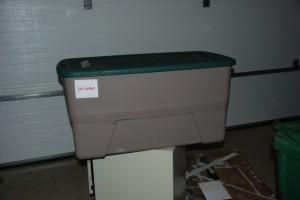 Plastic Tub DIY compost bin