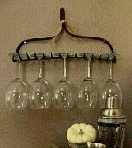 Green living rake shelf
