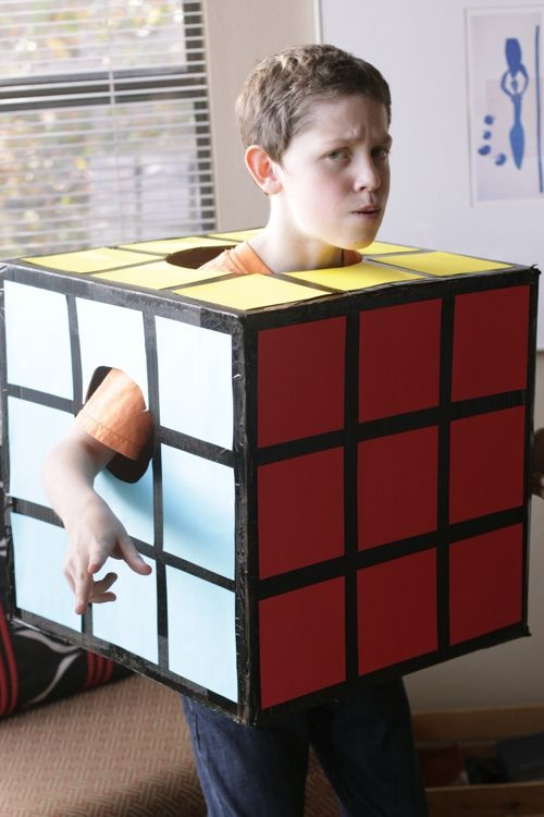 21 killer upcycled halloween costumes you can make with a box