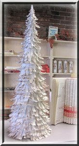 DIY paper Christmas tree