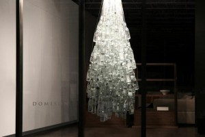Recycled bottle Christmas tree