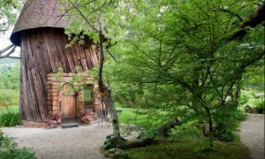 upcycled silo tiny house