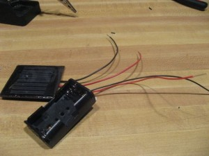 DIY solar usb cell phone charger