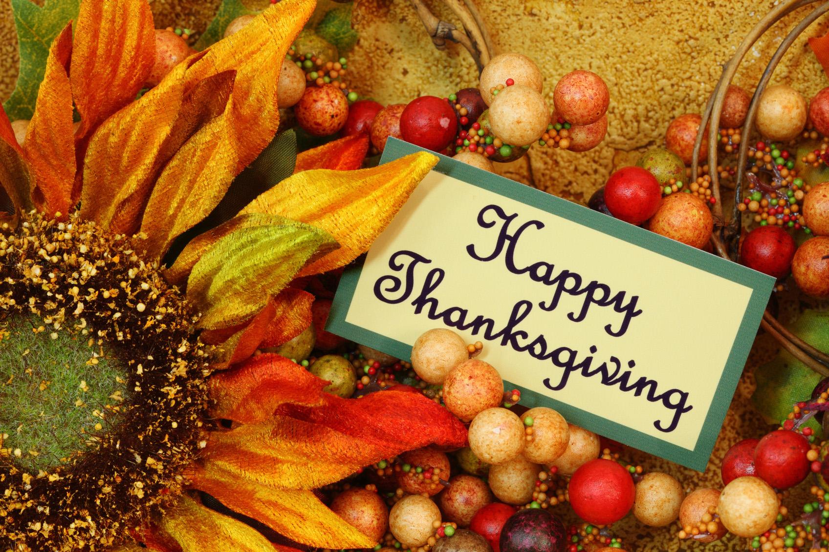 День благодарения поздравления на английском