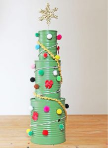recycled chistmas trees