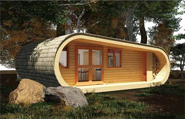 Tiny House woods