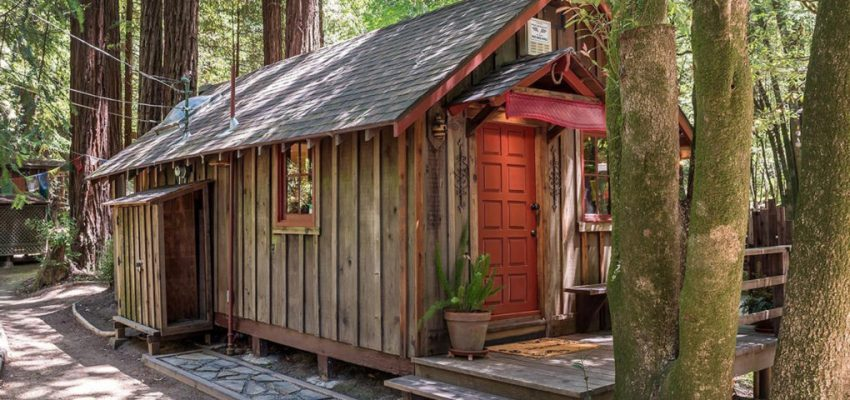 This Rustic Tiny House Has A Treehouse Too