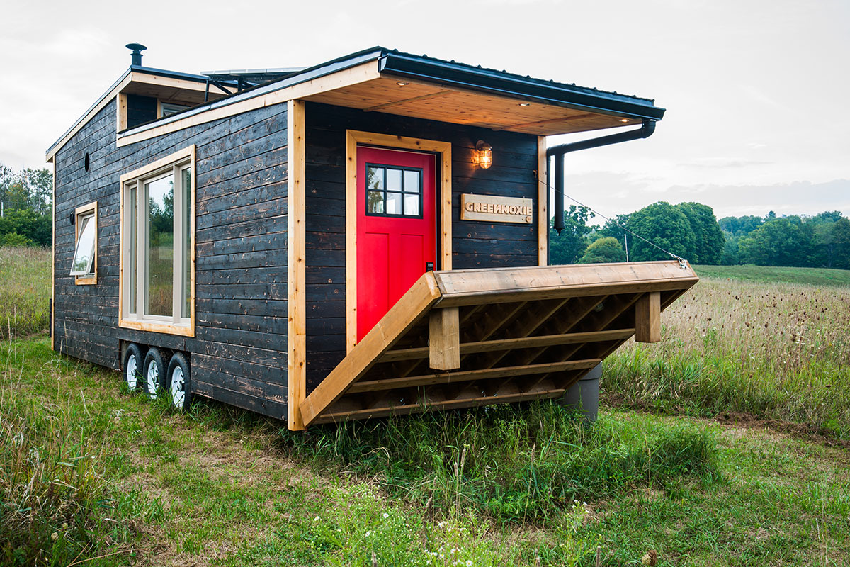Tiny Houses the greenmoxie tiny house project | greenmoxie™