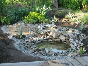 tractor tire pond DIY