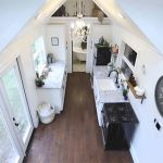 Top view tiny house