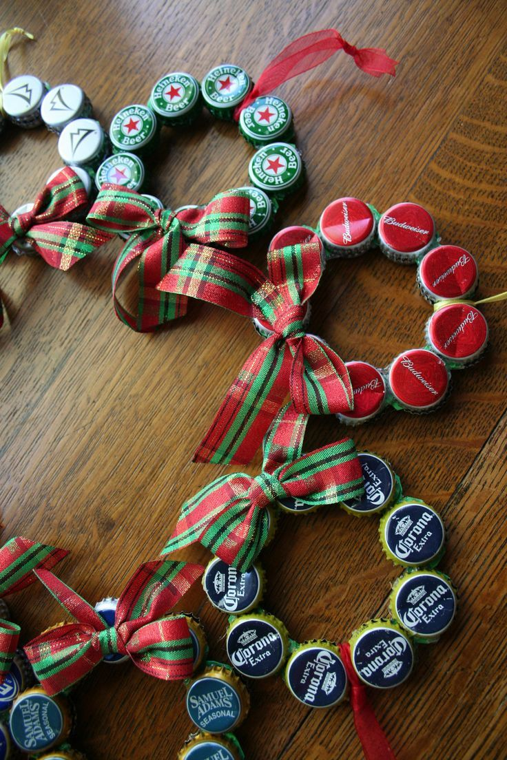 19 upcycled christmas ornaments you can make yourself
