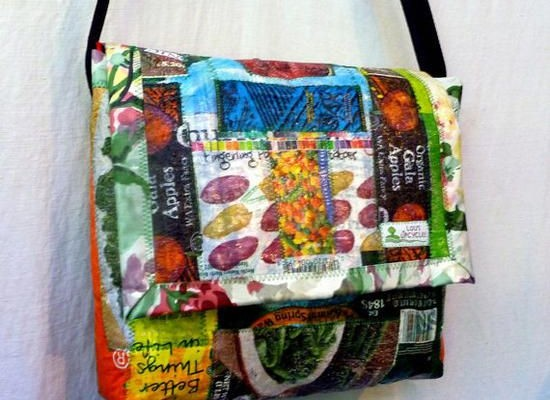 Amazing upcycling gift ideas made from plastic bags