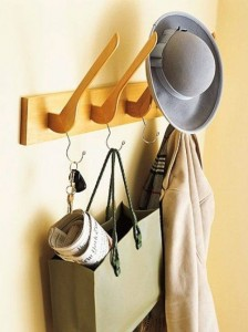 Upcycled coat hangers