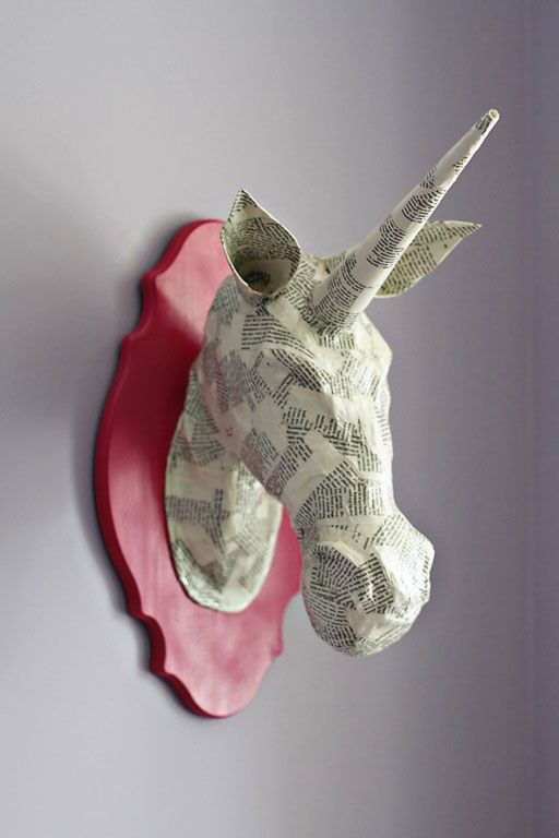 Upcycled paper mache