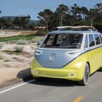 Volkswagen electric microbus I.D Buzz