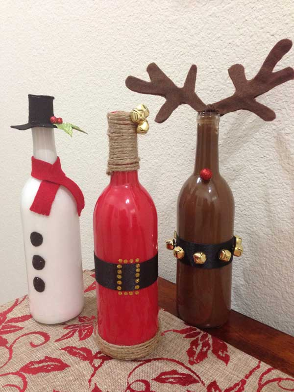 Christmas Decor Made From Recycled Materials : Diy christmas decorations made from recycled materials