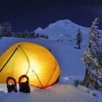 Winter camping hacks
