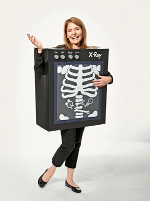 x ray machines cardboard box halloween costume