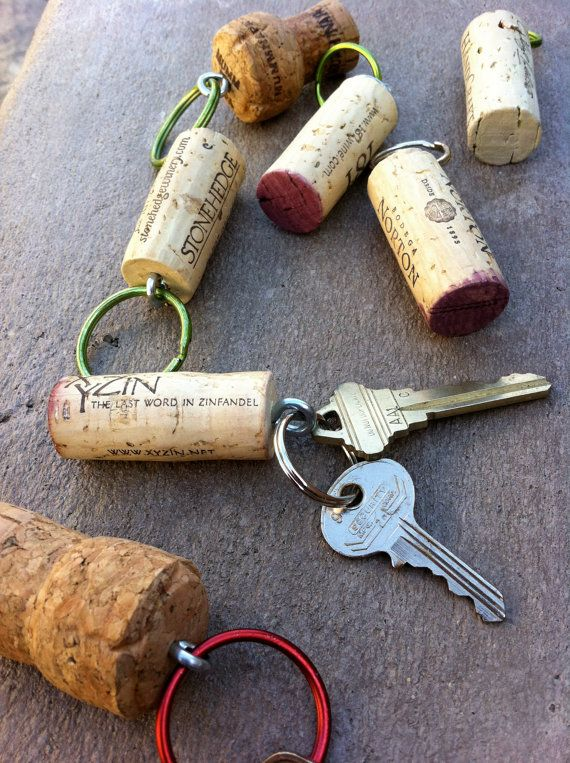 Keep Your Keys Safe With These Cork Keychains
