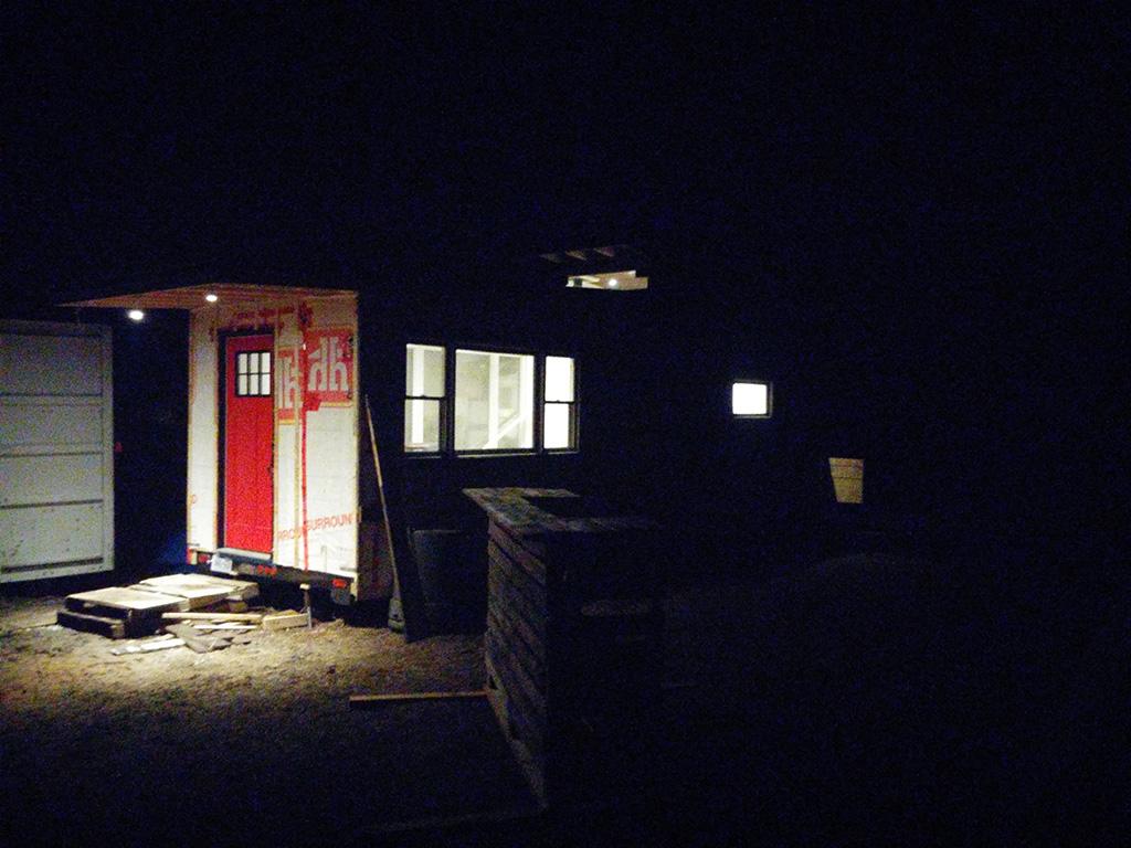 GM Tiny House Exterior Lighting