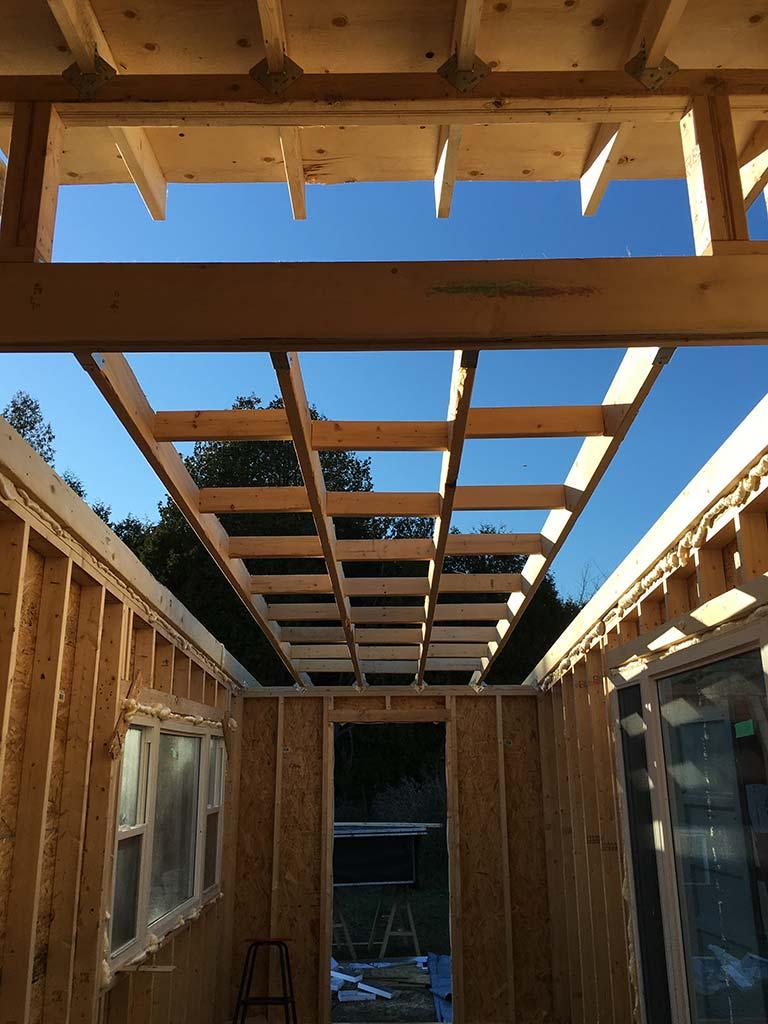 Greenmoxie Tiny House Project Window Install