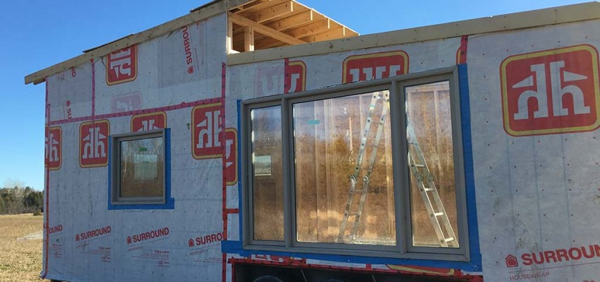 Gm Tiny House west side windows