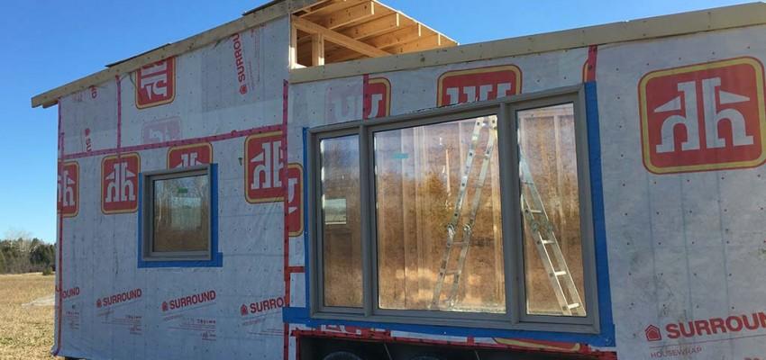 Gm Tiny House west side windows
