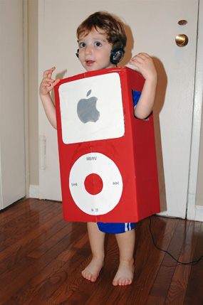 smart phones and ipod halloween costumes are really easy to make for the tech loving kid