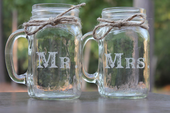 Green home: Mason Jar Mugs
